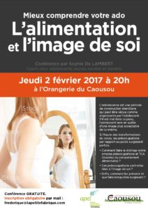 Conference-alimentation ado-Delambert coach